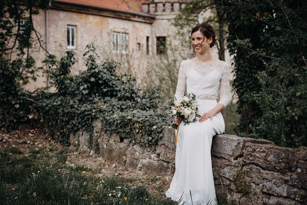 Hochzeit Veronika und Nicolas auf Schloss Saaleck Hammelburg