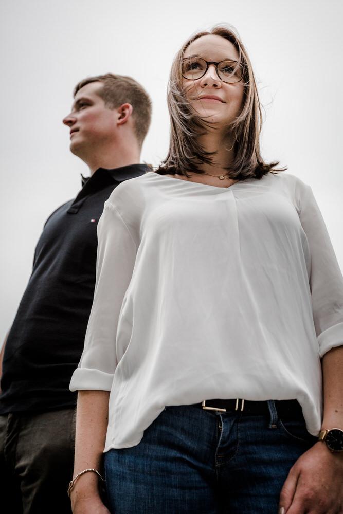 Engagementshooting Luisa und Jakob in Würzburg