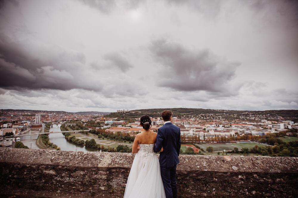 Hochzeit in Würzburg und im Schlosshotel Steinburg in Würzburg