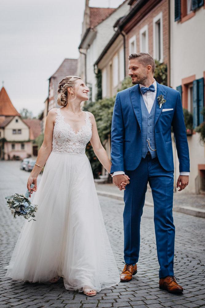 Hochzeit in Oberpleichfeld und Hochzeitsfeier im Freihof Prichsenstadt